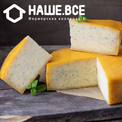 Сыр Гауда коровий с мятой (1 мес.) от Валерия Колоши