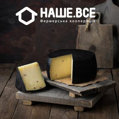Сыр Манчего с брусникой овечий (6 мес.) от Александра Блажевича