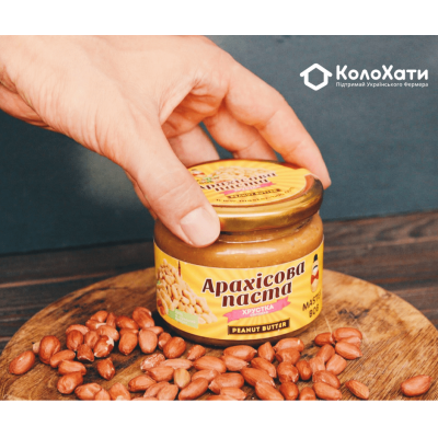 Купить - Арахисовая паста с шоколадом (300г) от Олега Мельника
