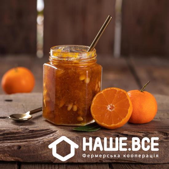 Варенье из мандарина с кедровым орехом (200 мл) от Ирины Никитченко