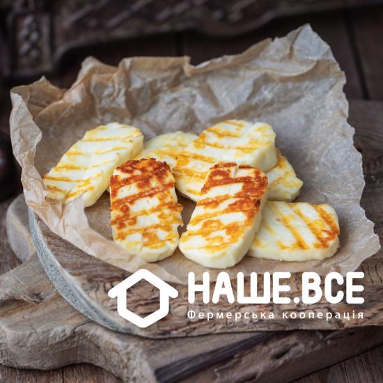 Сыр Халуми с кунжутом от Елены Бойченко
