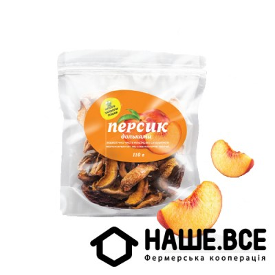 Персик сушеный дольками от Елены Большаковой