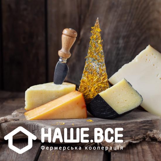 """Сырный набор """"Зрелый вкус"""" (5 видов зрелых сыров)"""