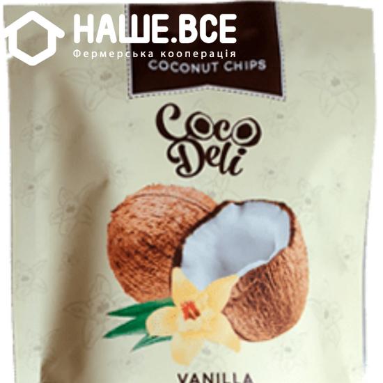 Чипси кокосовые ваниль Cocodeli 0.030г ТМ