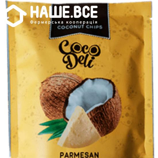 Чипсы кокосовые сыр Сocodeli 0.030г шт ТМ