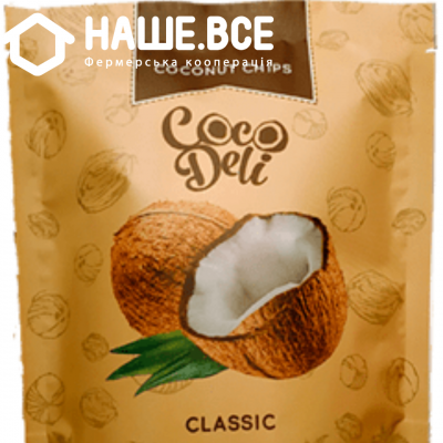 Купить - Чіпси кокосові солодкі Cocodeli 0.030г ТМ