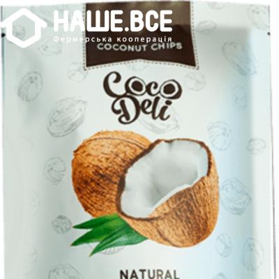Купить - Чіпси кокосові нейтральні Cocodeli 0.030г. ТМ
