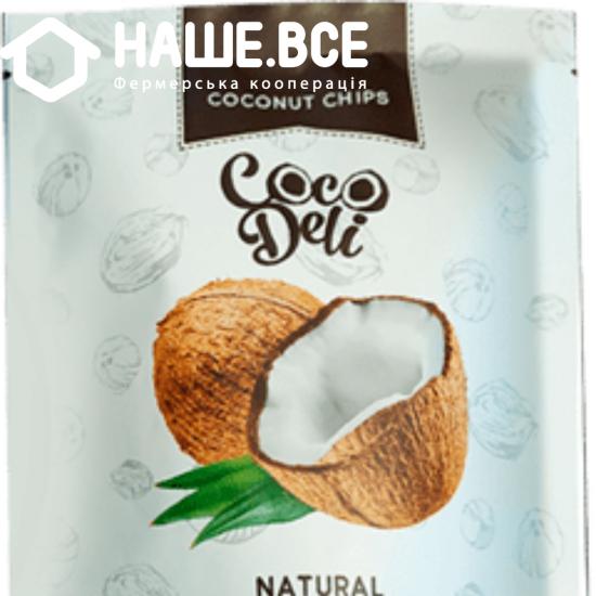 Чипсы кокосовые нетральные Cocodeli 0.030г ТМ
