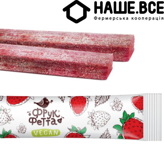 Пастила Клубника фруктовая конфета 20г от Елены Большаковой