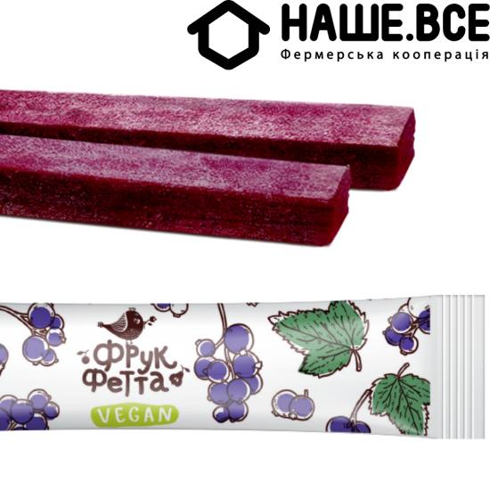 Пастила Смородина фруктовая конфета 20г от Елены Большаковой