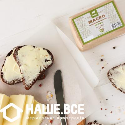 Купить - Масло селянське солодковершкове екстра 85% від Олексія Євстратько, 200г