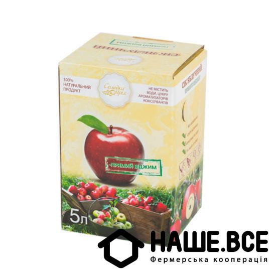 Сок яблочный 5л ТМ