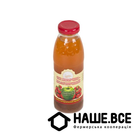 Сок яблочно-клубничный 0,3л ТМ