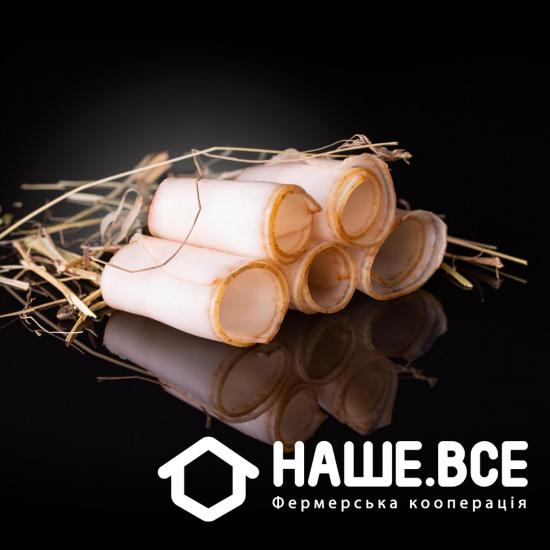 Сало мангалицы копченое на сене от Тараса Парандия