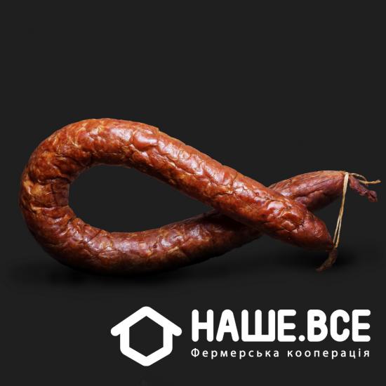 Колбаса индюшачья копченая от Тараса Парандия