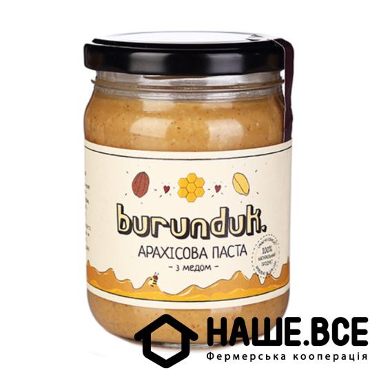 Арахисовое паста с медом 250г, TM