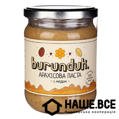 Купить - Арахисовое паста с медом 450г, TM
