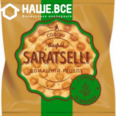 Купить - Вафліи с сыром и укропом TM SARATSELLI