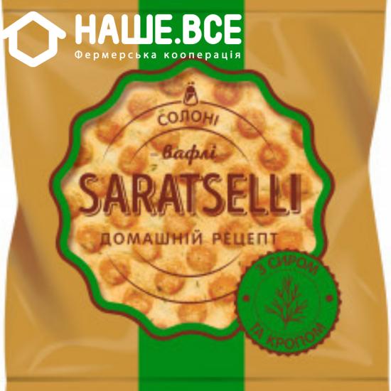 Вафліи с сыром и укропом TM SARATSELLI