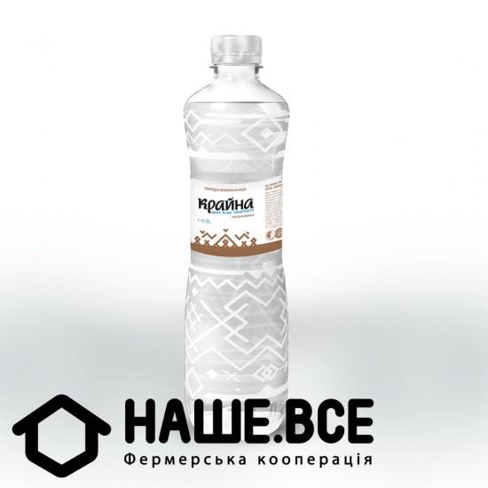 Вода ТМ Крайна 0,5л, н/газа, пластик