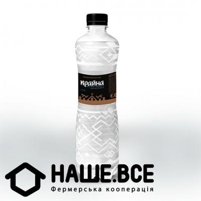Вода ТМ Крайна 0,5 л, газ, пластик