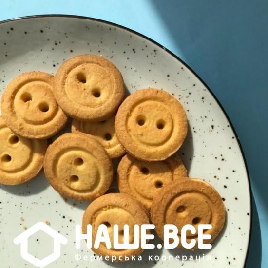 Печенье Пуговки ванильные 220г, Cookietone