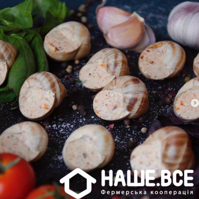 Купить - Улитки в соусе Песто с грецким орехом и вялеными томатами, 130г