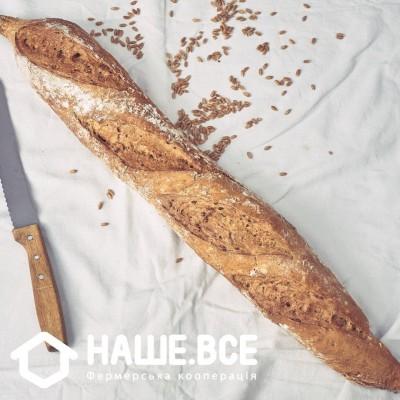"""Купить - Батон-хліб """"Гречаний з цибулею"""" 330 г ТМ Еволюцiя Хлiба"""