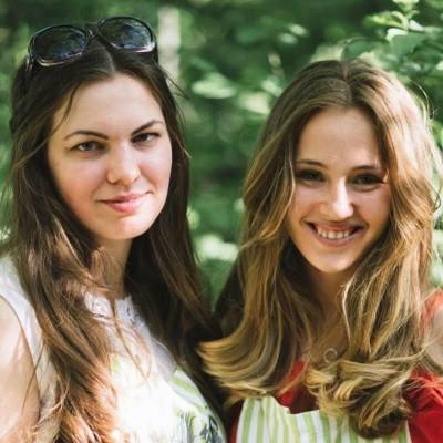 Анна Трященко и Дарья Хорсева